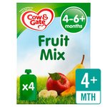 Cow & Gate Fruit Mix Fruit Puree Pouch Multipack