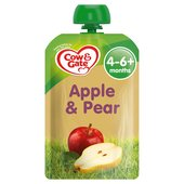Cow & Gate Apple & Pear Fruit Pouch