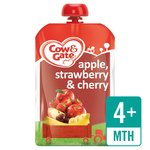 Cow & Gate Apple, Strawberry & Cherry Fruit Pouch