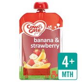Cow & Gate Banana & Strawberry Fruit Pouch