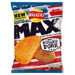 Walkers Max BBQ Pulled Pork Crisps