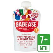 Babease Organic Root Vegetable & Quinoa Pilaf