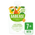 Babease Organic Thai Green Chicken Curry