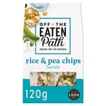 Off The Eaten Path Salted Popped Rice Chips