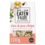Off The Eaten Path Sour Cream Popped Rice Chips