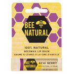 Bee Natural Acai Berry Lip Balm 100% Natural Beeswax