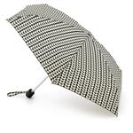 Orla Kiely Bi-Colour Stem Black & Cream Tiny Umbrella