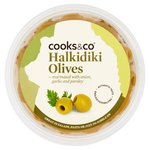 COOKS & CO - Halkidiki Olives with Garlic, Parsley & Onion