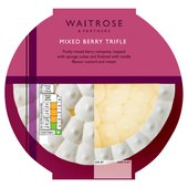 Waitrose Mixed Berry Trifle