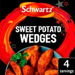 Schwartz Authentic US Sweet Potato Wedges