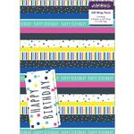 Stripe Gift Wrap Sheets & Tags