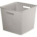 Curver Large Rectangular Basket - Grey
