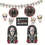 Halloween Skull Decorating Kit, Day of the dead