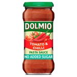 Dolmio Tomato & Chilli No Added Sugar Pasta Sauce