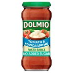 Dolmio Tomato Mascarpone No Added Sugar Pasta Sauce