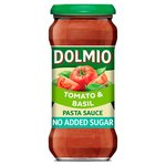 Dolmio Tomato & Basil No Added Sugar Pasta Sauce