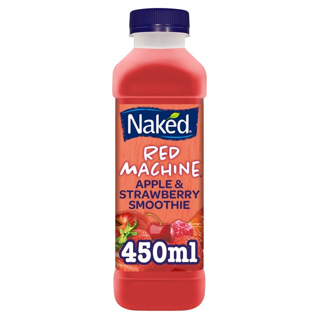 naked red machine strawberry smoothie 450ml from ocado. Black Bedroom Furniture Sets. Home Design Ideas