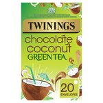 Twinings Green Tea Bags with Chocolate & Coconut