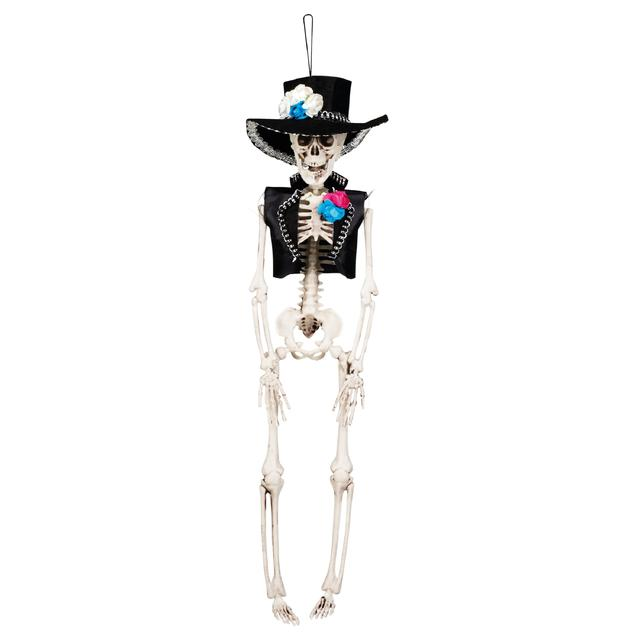 skeleton halloween decoration el flaco - Skeleton Halloween Decoration