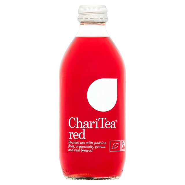 ChariTea Red Iced Rooibos Tea Passion Fruit