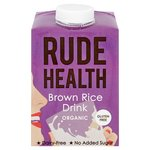 Rude Health Longlife Brown Rice Drink