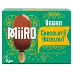 MiiRO Vegan Ice Cream Lollies Chocolate Hazelnut