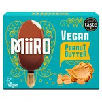Miiro Dairy Free Chocolate Coated Ice Lolly Peanut Butter