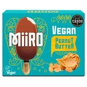Miiro Dairy Free Chocolate Coated Ice Lolly Peanut Butter at Ocado