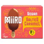 MiiRO Vegan Ice Cream Lollies Salted Caramel