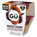 Gü Chocolate & Toffee Mousse Fusions