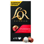 L'OR Espresso Intensity 7 Splendente Nespresso Compatible Coffee Capsules