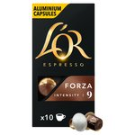 L'OR Espresso Intensity 9 Forza Nespresso Compatible Coffee Capsules