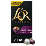 L'OR Espresso  Intensity 10 Supremo Nespresso Compatible Coffee Capsules