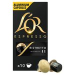 L'OR Espresso Intensity 11 Ristretto Nespresso Compatible Coffee Capsules