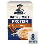 Quaker Oat So Simple Protein Cinnamon Porridge