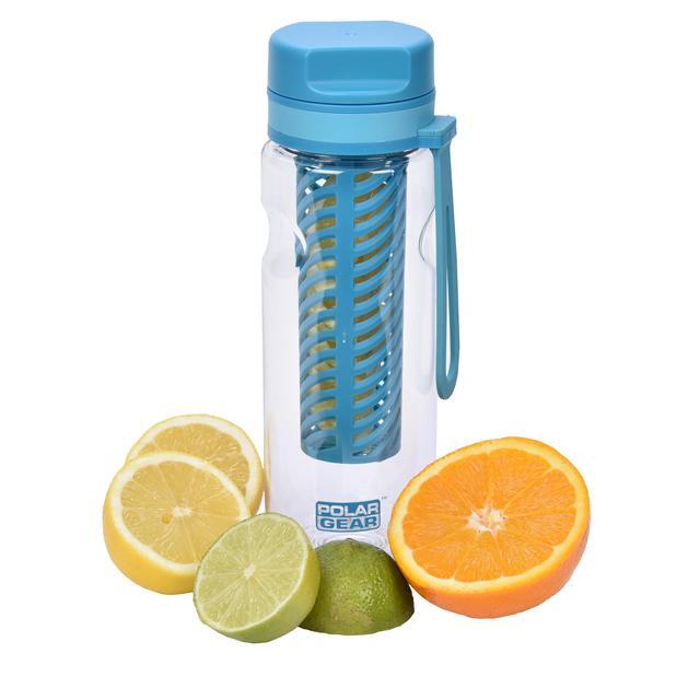 316fe247cf Polar Gear Aqua Flow Fruit Infuser Water Bottle Turquoise 650ml from Ocado
