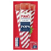 Pops Pimm's Ice Popsicle
