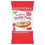 Kiddylicious Strawberry Fruity Puffs Multi