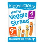 Kiddylicious Cheesy Straw Multi