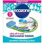 Ecozone Ultra All in One Dishwasher Tablets