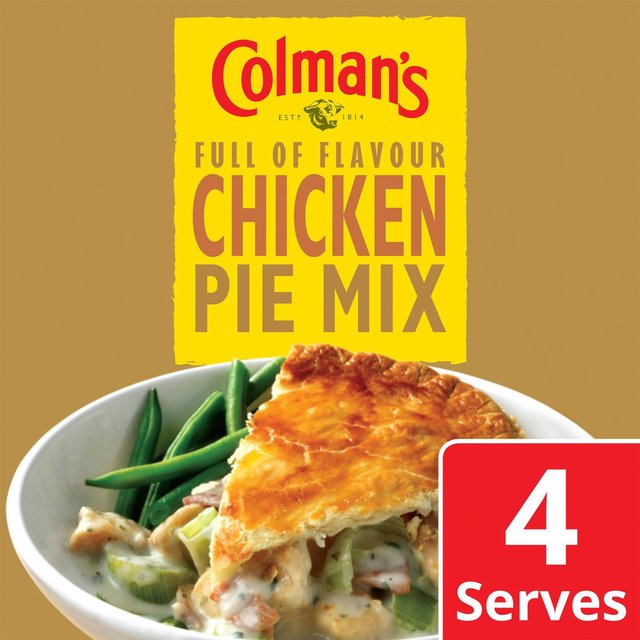 Colman's Chicken Pie Recipe Mix 38g from Ocado