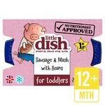 Little Dish Sausage & Mash Toddler Meal