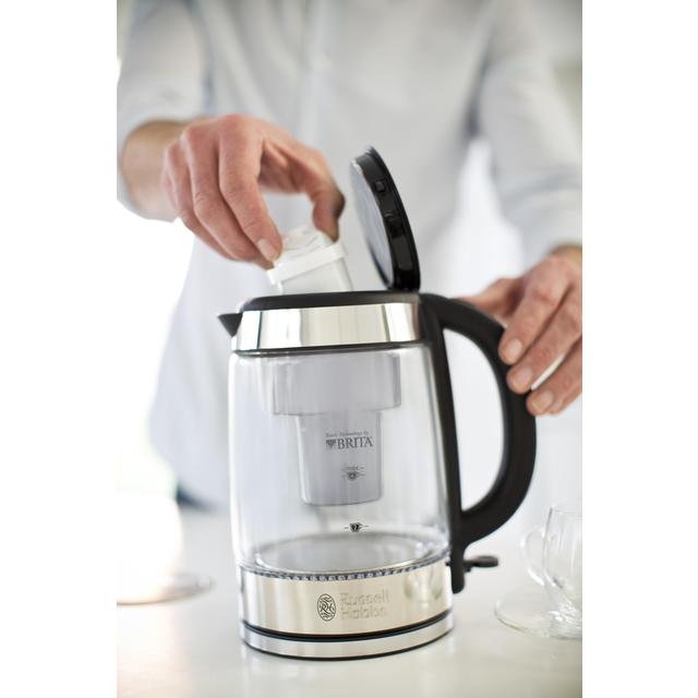 Russell Hobbs Brita Purity Glass Kettle