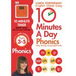 10 Minutes a Day Phonics, 3-5 years Book