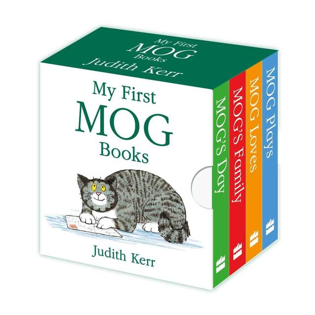 My First Mog Books Little Library, 12mths+ Book