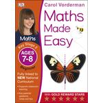 Maths Made Easy Ages 7 to 8 Key Stage 2 Beginner Book