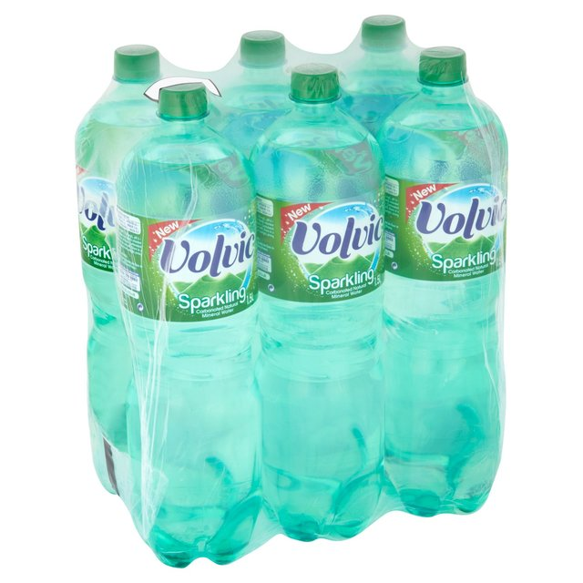 volvic sparkling mineral water 6 x 1 5l from ocado. Black Bedroom Furniture Sets. Home Design Ideas