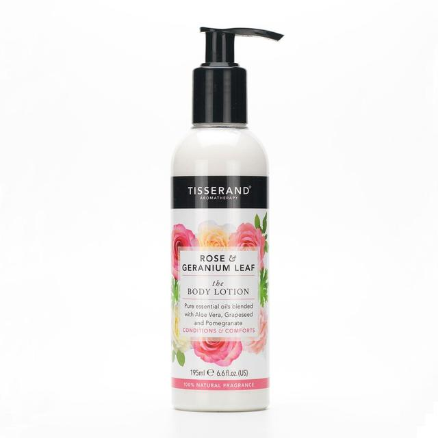 Tisserand Rose & Geranium Leaf Body Lotion