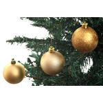 Christmas Gold Shatterproof Baubles