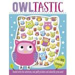 Owltastic Puffy Sticker Activity Book